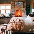 In Big Sky, Montana, a rustic-luxe vacation home captures the drama of its unforgiving mountain site