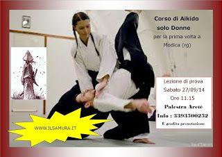 Aikido, al via il primo corso in provincia di Ragusa rivolto alle donne