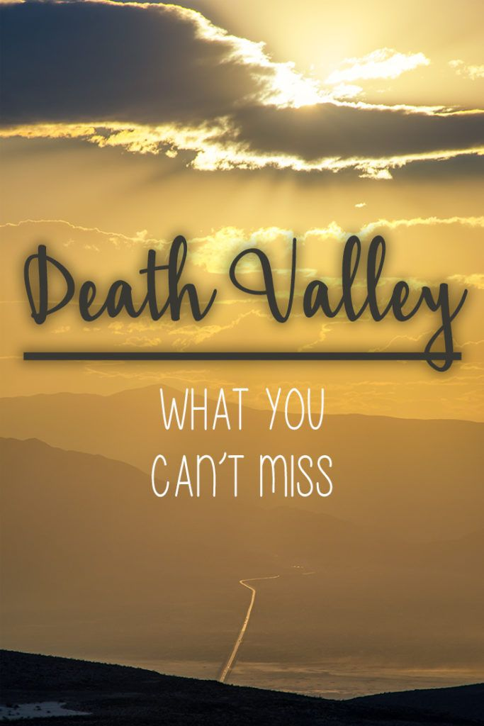 Infamous deadly heat. What should you visit in Death Valley? Badewater Basin - what else should you see? Route and hints!