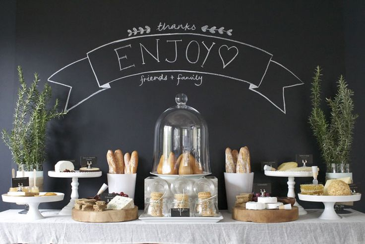 Dessert Bars: Cheese Table