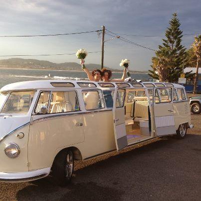 oh dear god i need a limo kombi!  pic courtesy of byronbaybrideandgroom fb page :)