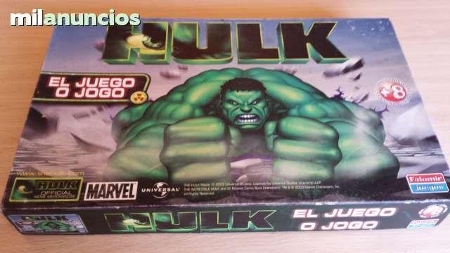 Vendo Juego Hulk, del año 2003. Anuncio y más fotos aquí: http://www.milanuncios.com/juegos-de-mesa/hulk-ano-2003-juego-raro-150740072.htm