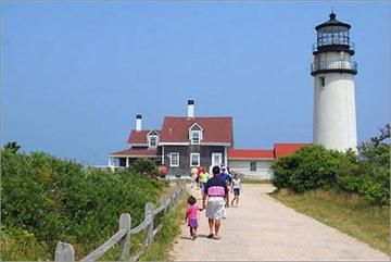 Ten lighthouses dot the Cape Cod shoreline. Take a free tour of the Chatham Lighthouse, the Nobska Light in Woods Hole or Race Point Light in Provincetown.