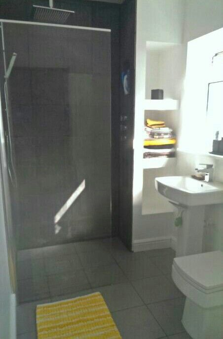 small grey and yellow wet room finished wet room ideassmall
