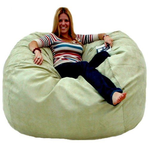 Cozy Sack 5 Feet Bean Bag Chair Large Sage