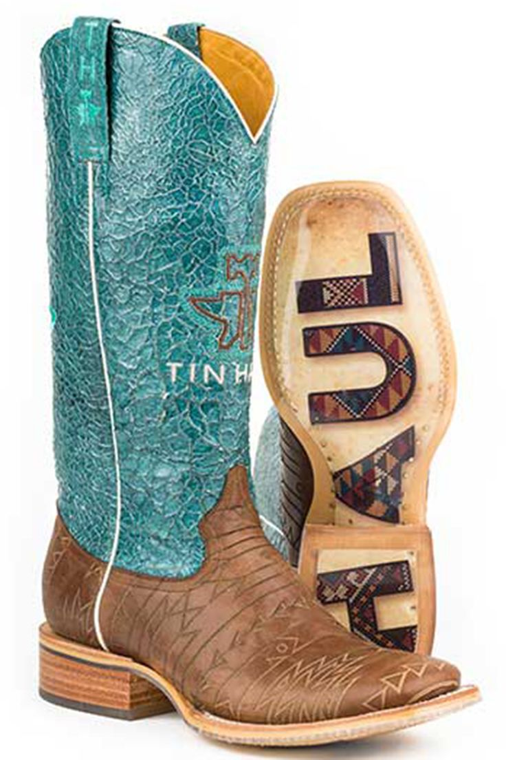 Tin Haul Aztek Women's Cowgirl Boots - HeadWest Outfitters
