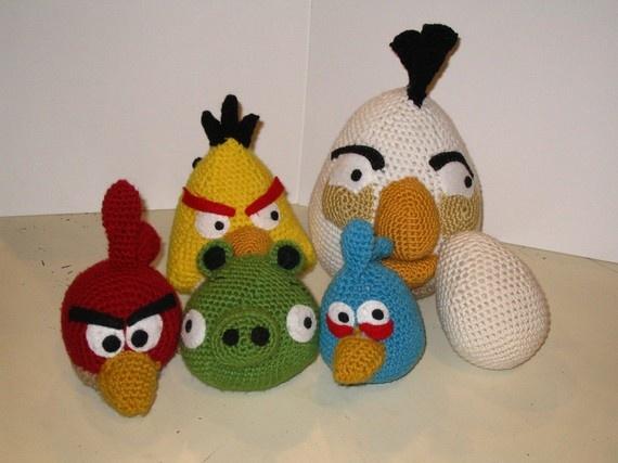 Tutorial Amigurumi Angry Bird : Oomanoot crochet ice angry bird tutorial crochet and knitting
