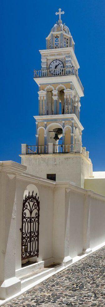 Santorini Church, Greece (by Martin Smith)