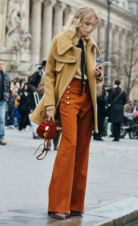 Nail the Seventies look with the trendiest pieces of the season #ParisCoutureFashionWeek #70s #TommyTon
