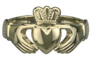 all things irish | ... Gold Men's Claddagh Ring - All Things Irish - Irish & Celtic Products