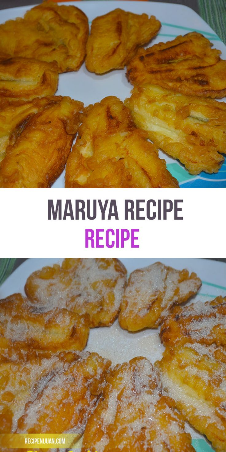 The maruya recipe is not really complicated as you just need to remember Four main ingredients; the ripe Saging na Saba (cardaba bananas), flour, milk and sugar.