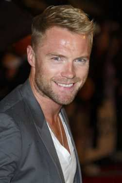Ronan Keating, great voice... Our wedding song is his version of In This Life