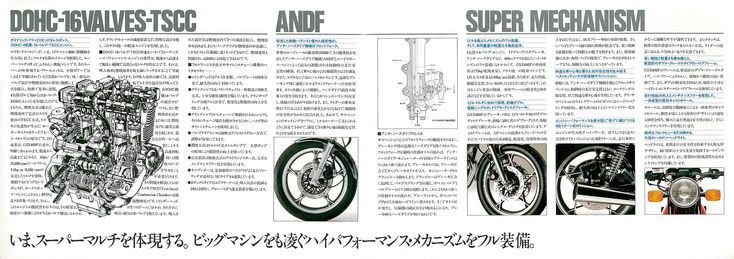 GS系の世界的成功で4スト技術に自信を得たスズキは、国内主流の400cc級に先陣を切って4スト4気筒DOHC 4バルブというハイメカを投入、先進性を強くアピールした。,オンロード・バイクの総合レビュー・サイト、Moto-Ride(モト・ライド)。