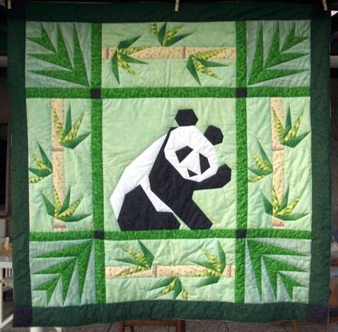 25 Best Ideas About Panda Quilt On Pinterest Clamshell