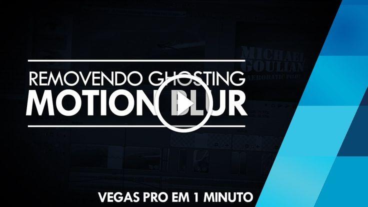 Vegas Pro em 1 Minuto - Remover GHOSTING/Motion Blur // Sony Vegas 12 e 13                                           Confira 50 DICAS E TRUQUES DE SONY VEGAS! ➨ http://www.youtube.com/watch?v=FGI8zHIdTrY -~-~~-~~~-~~-~- ▶ Site: http://brainstormtutoriais.com ▶ Facebook: http://fb.com/BrainstormTutoriais ▶ Twitter:...