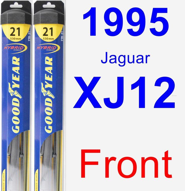 Front Wiper Blade Pack For 1995 Jaguar XJ12