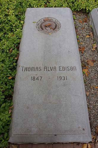 Thomas Alva Edison - American inventor and businessman. He developed many devices that greatly influenced life around the world, including the phonograph, the motion picture camera, and the long-lasting, practical electric light bulb.