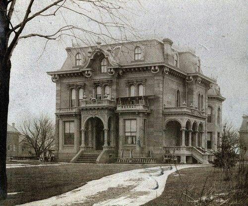 Forgotten mansion, Maryland, USA