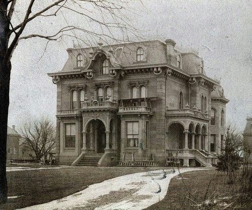 Forgotten mansion, Maryland, USA