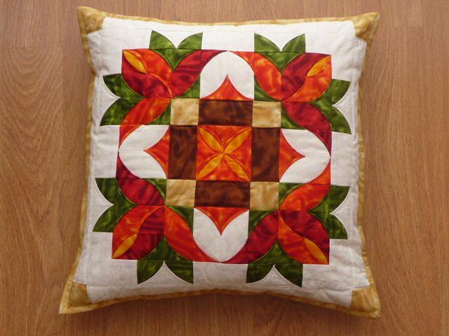 pillow - patchwork
