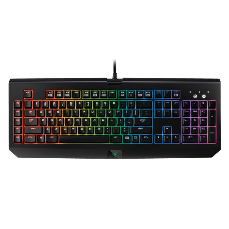 Razer BlackWidow Chroma Gaming Keyboard, Black