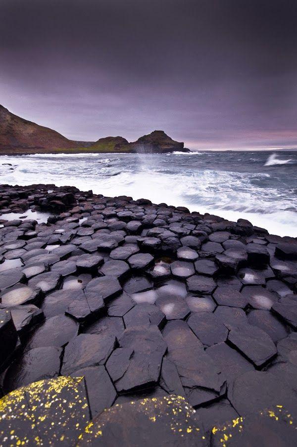 Black Giant's Causeway, Antrim Ireland
