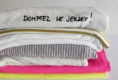 Blousette Rose : Comment coudre du jersey...