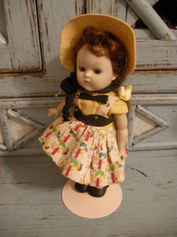 VIntage Kindergarten Ginny 1950's All Original
