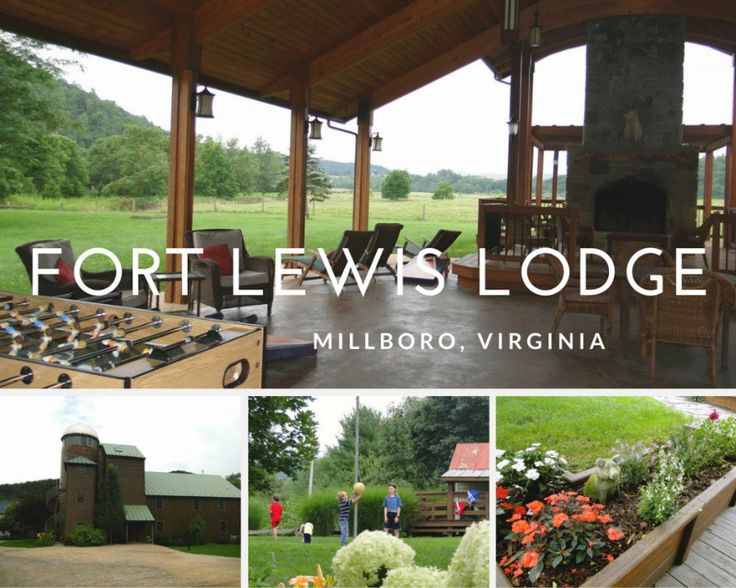 Dining at the Fort Lewis Lodge, Millboro, VA
