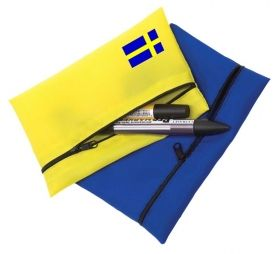 Promotional Products Ideas That Work: Nylon Case 7x4.5. Made in Canada. Get yours at www.luscangroup.com