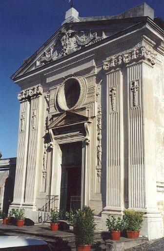 Пиранези (1765) отреставрировал церковь Санта-Мария-дель-Приорато (Chiesa di S. Maria del Priorato), которая стала составной частью резиденции ордена. Вход в неё закрыт, за пропуском надо обращаться в орденскую канцелярию (Via Condotti, 68).