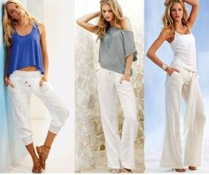Outfit Combinations to Wear With White Pants