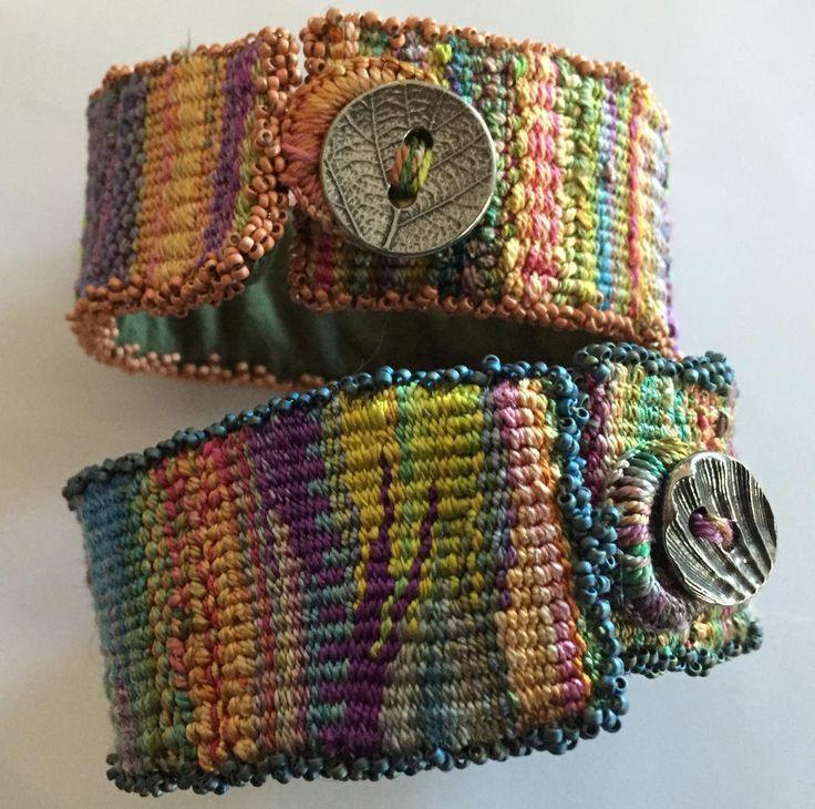 Woven Silk Cuffs