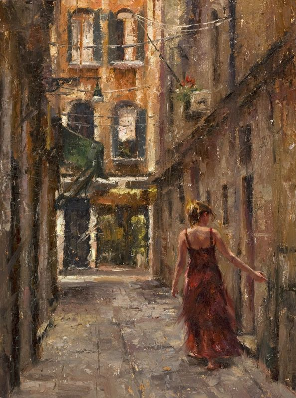 Todd Williams ~ American Impressionist painter