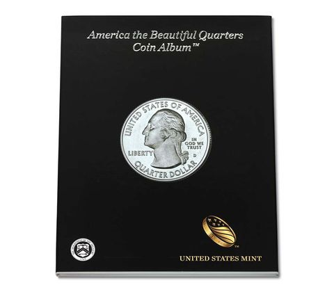 A Coin Album is the perfect way to store and display your America the Beautiful Quarters. Order for your own collection or to give as a gift for a budding coin collector. Discover why America is truly a land of beauty and splendor with the official United States Mint America the Beautiful Quarters Coin Album! Celebrate the...