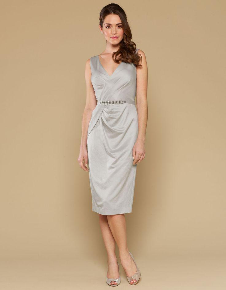 Kyla Dress | Silver | Monsoon