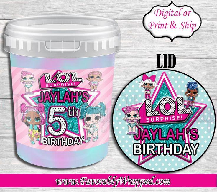 Lol cotton candy labelslol surpriselol birthdaylol