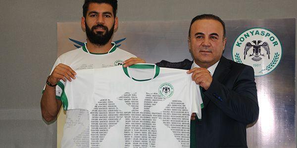 İşte Konyaspor'un yeni forması!