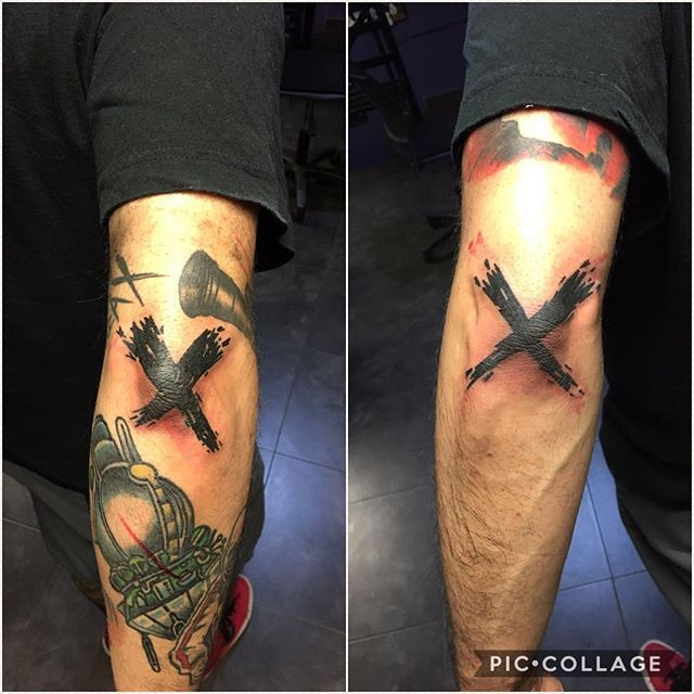 X Tattoo Designs For Men And Women Panosundaki Pin