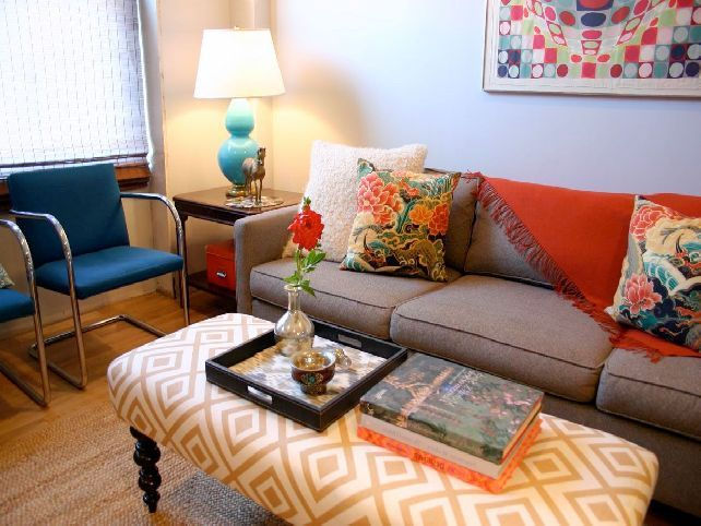 Best 25 Upholstered Ottoman Coffee Table Ideas On