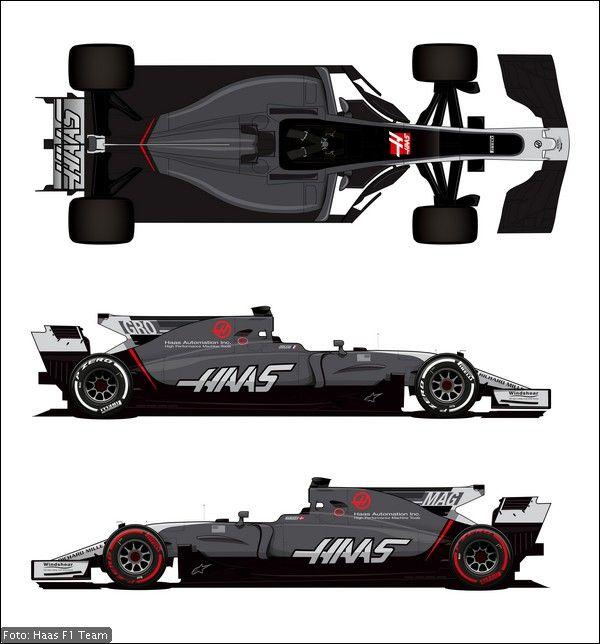 Haas VF-17 avrà livrea aggiornata da Monaco in poi