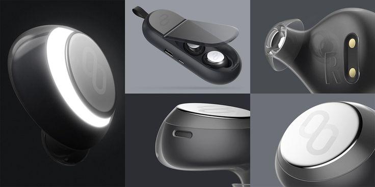 Clik Wireless Earbuds on Behance