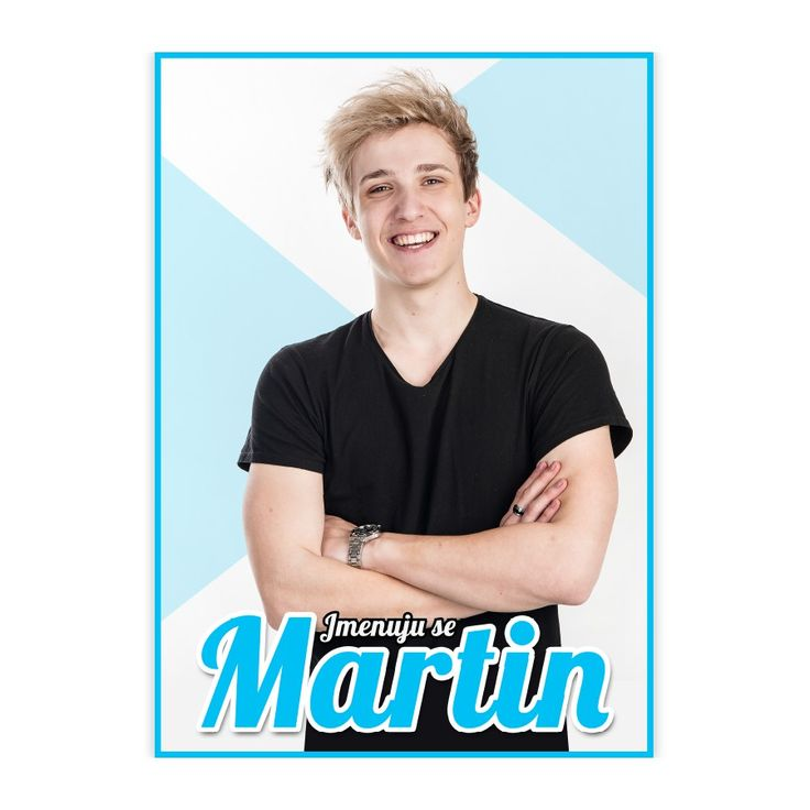 Plakát Jmenuju se Martin