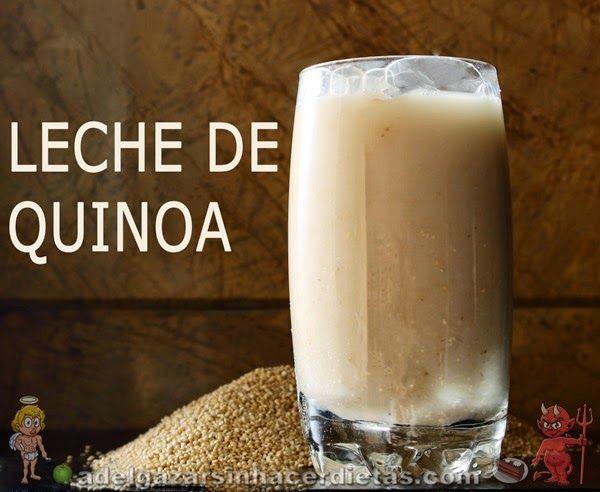 Ingredientes:  - 1 taza de quinua (100 gramos/ 3,5 onzas) - 6 tazas de agua (1,5 litros/ 3 pintas) - 1 cucharada de sal