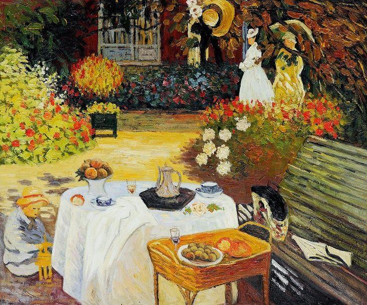 Casa do Artista - Pinturas de Monet Claude | O Pai do Impressionismo