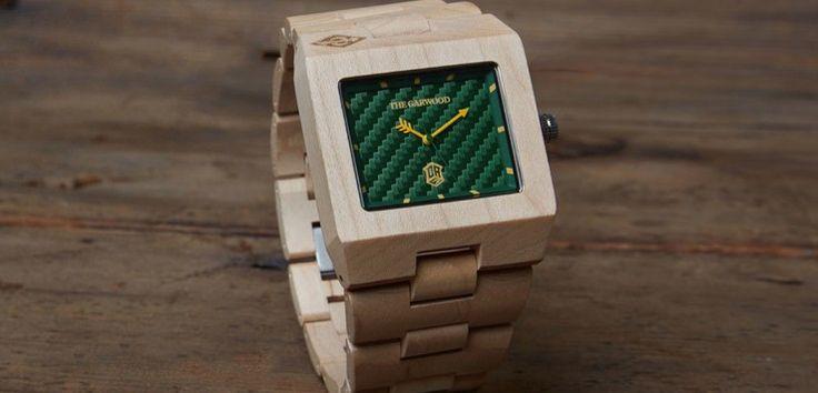 İtfaiyecilerin takamayacağı saat: #Garwood #Wristwatch #KolSaati #Ahşap #Karizmatik #MenStyle #ErkekStili