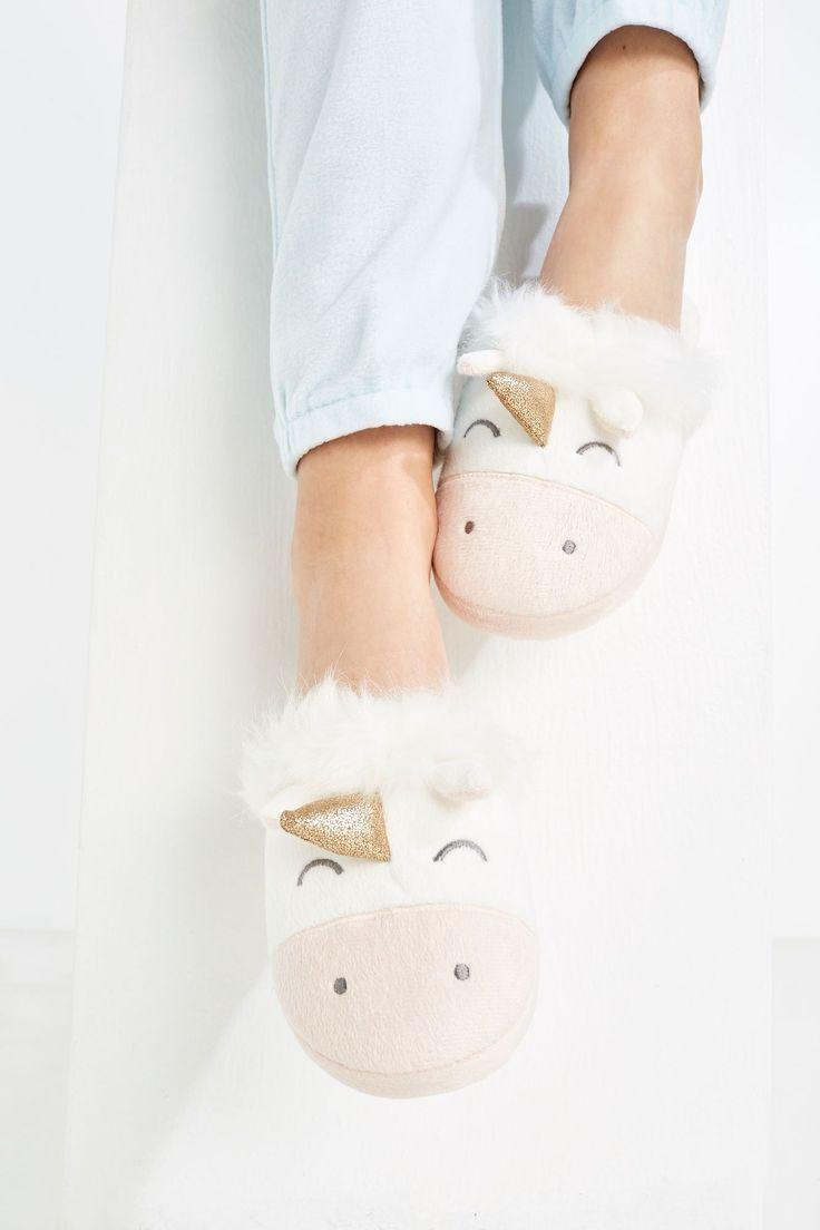 Zapatilla unicornio