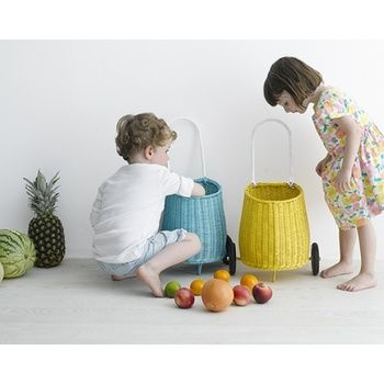 We are taking pre-orders now for these gorgeous Olli Ella Luggys - available in blue, white, natural and yellow - $110 - mid December arrival!