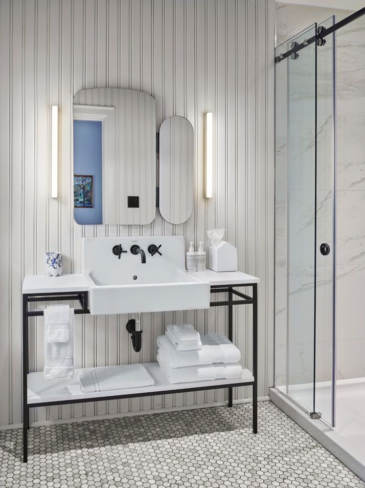 Urban Hip Hits The Countryside At Drake Devonshire Inn In Ontario Canada Hotel BathroomsGuest BathroomsRest RoomDesign