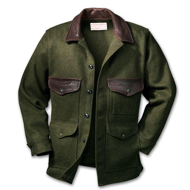 Filson - Sebago Wool Cruiser Coat | $360.00